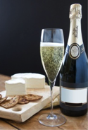 Champagne and Camembert