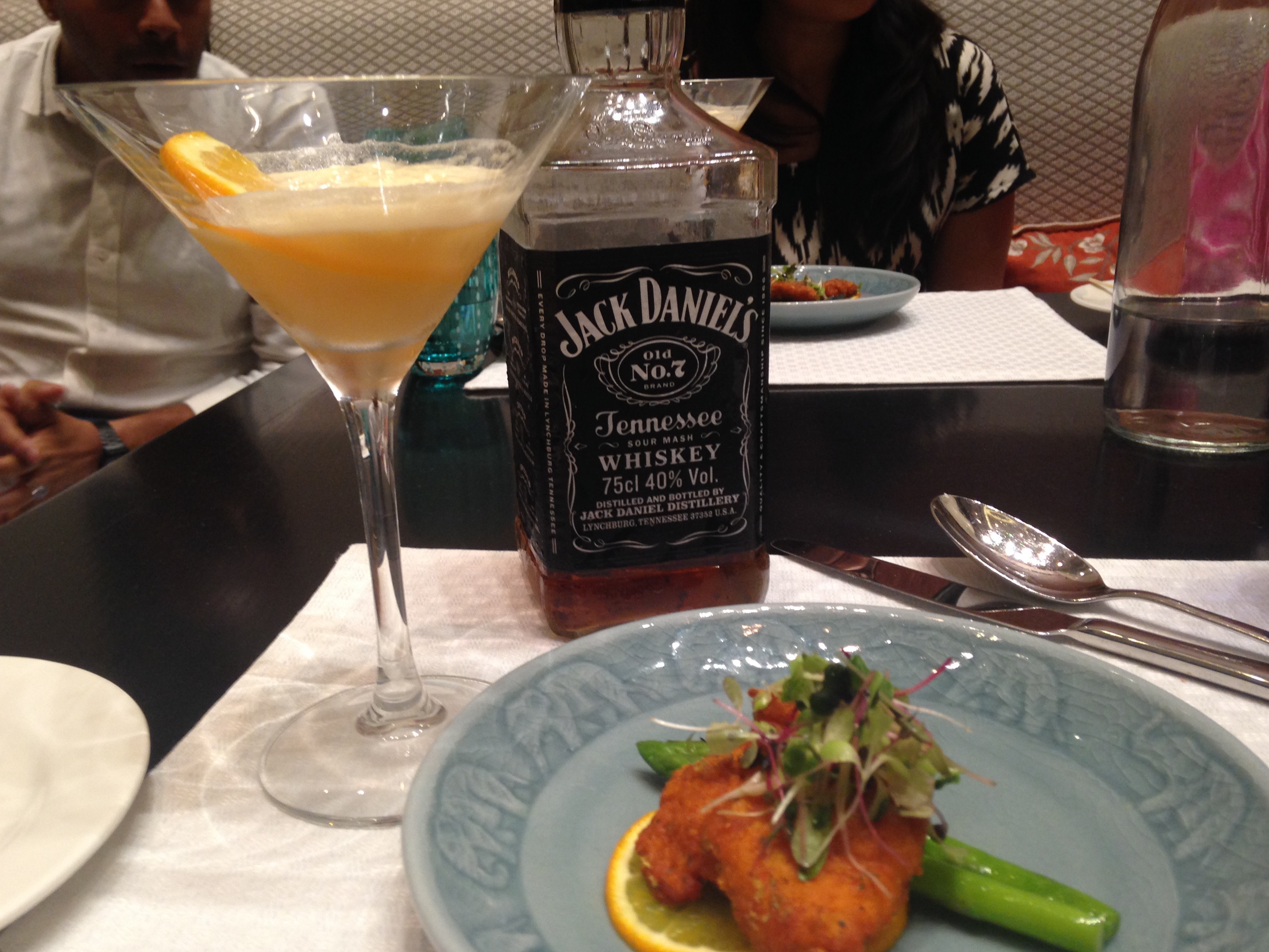 JD and Fried Fish