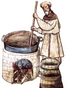 medivial-monk-brewing-beer