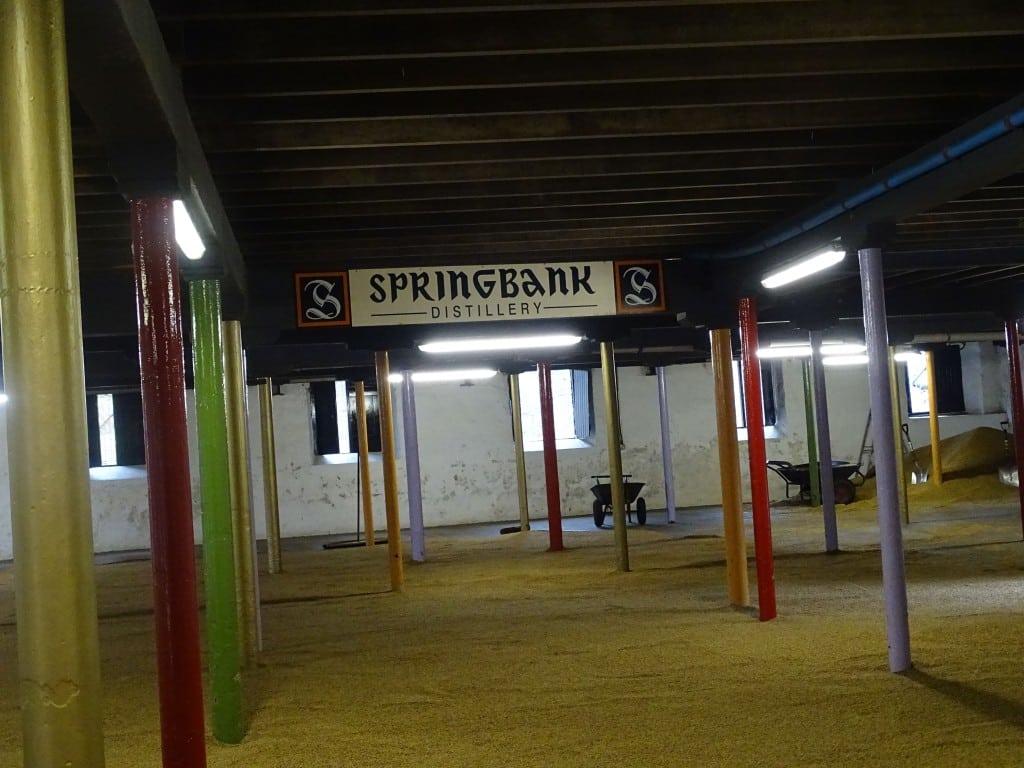 Springbank - Malting Floor