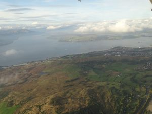 Aerial View of Campbeltown