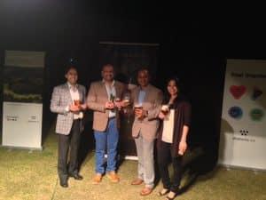 Amit Agarwal (Hema Connoisseur), Rahul Singh (The Beer Cafe), Vikram Achanta (Tulleeho), Karina Agarwal (Gigglewater)
