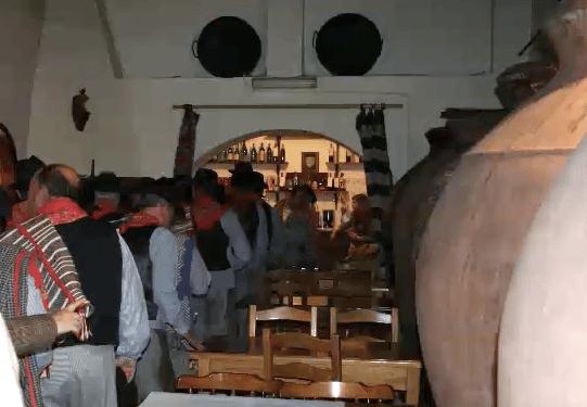 Talhas in a local tavern
